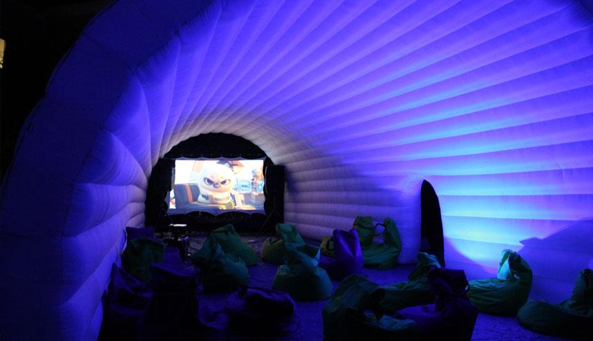 blue igloo