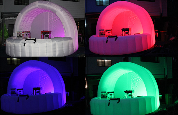 inflatable bar