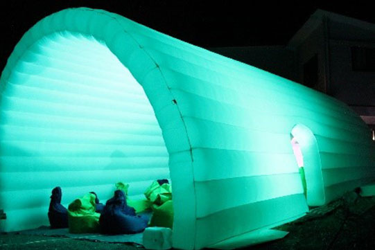 9 metre cinema igloo