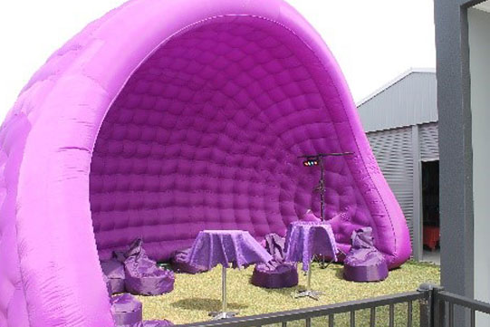 purple marquees