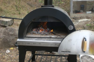 Trolley mounted Pizza Oven
